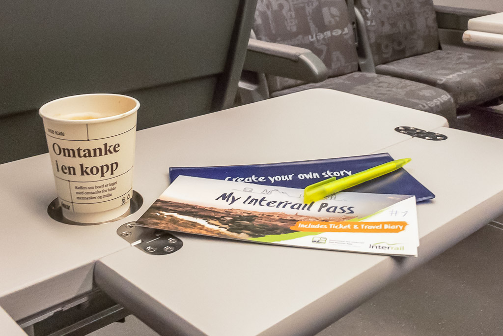 Interrail Reisetagebuch eintragen