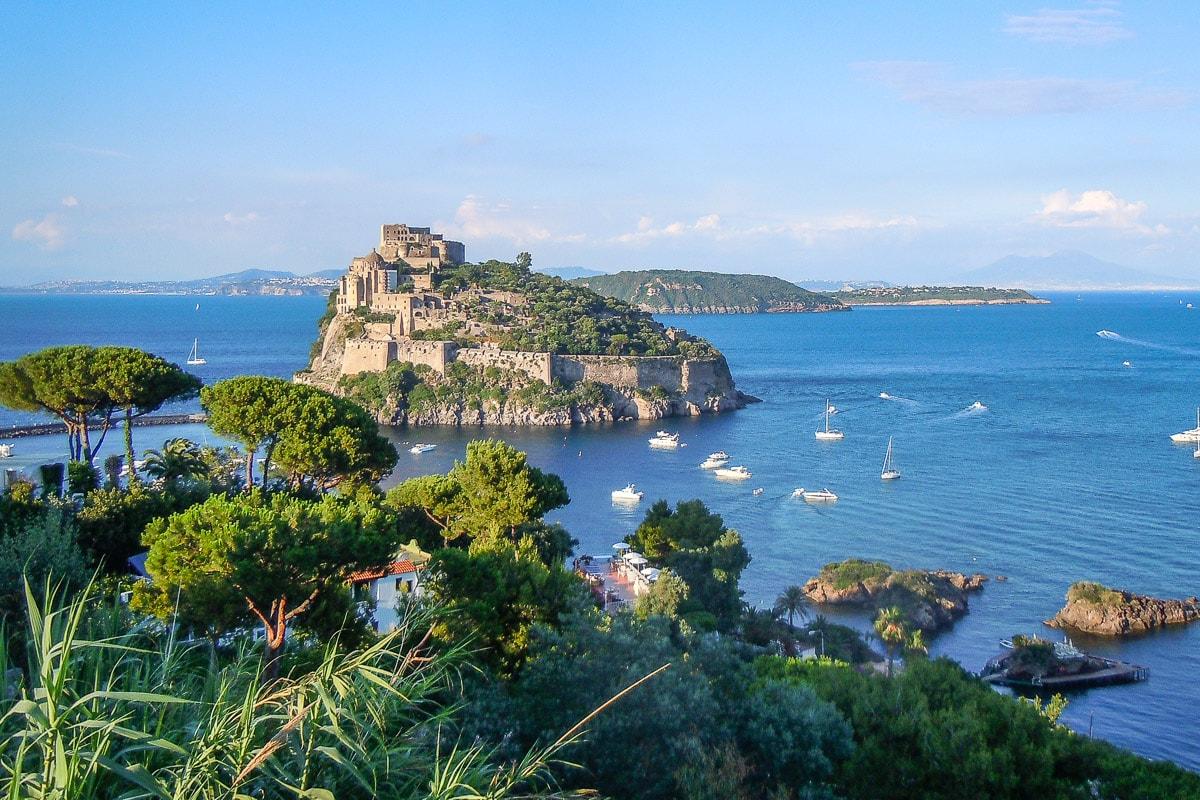 Ischia Italien Golf von Neapel