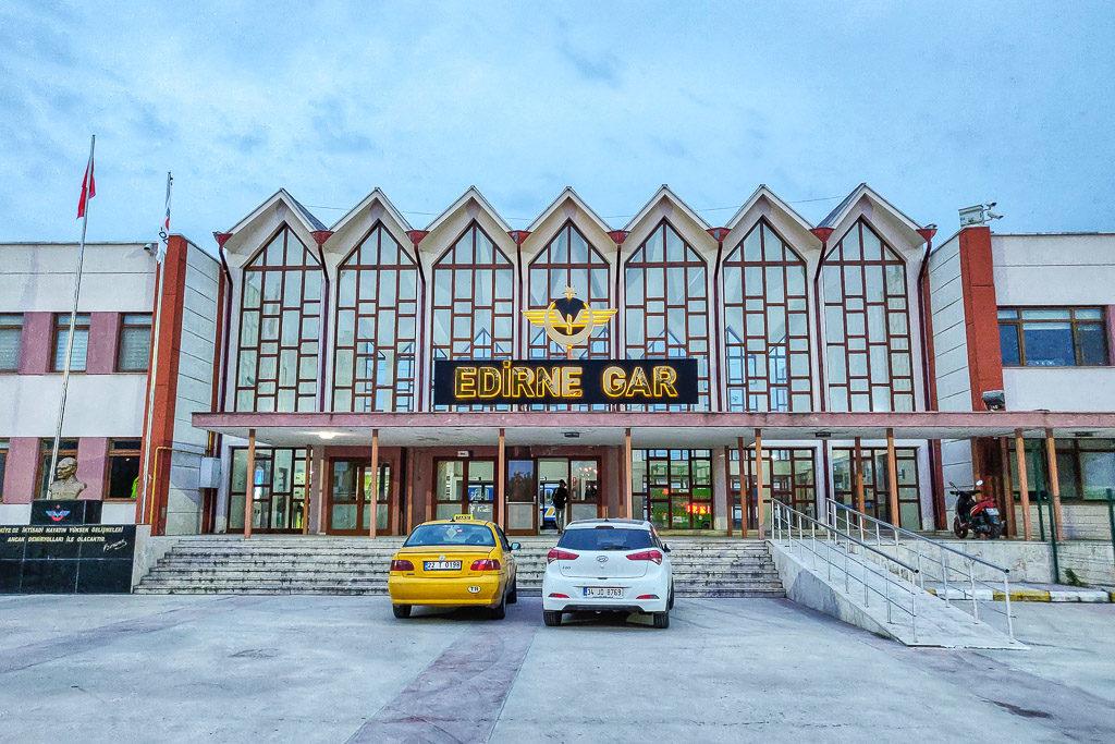 Bahnhof Edirne Türkei