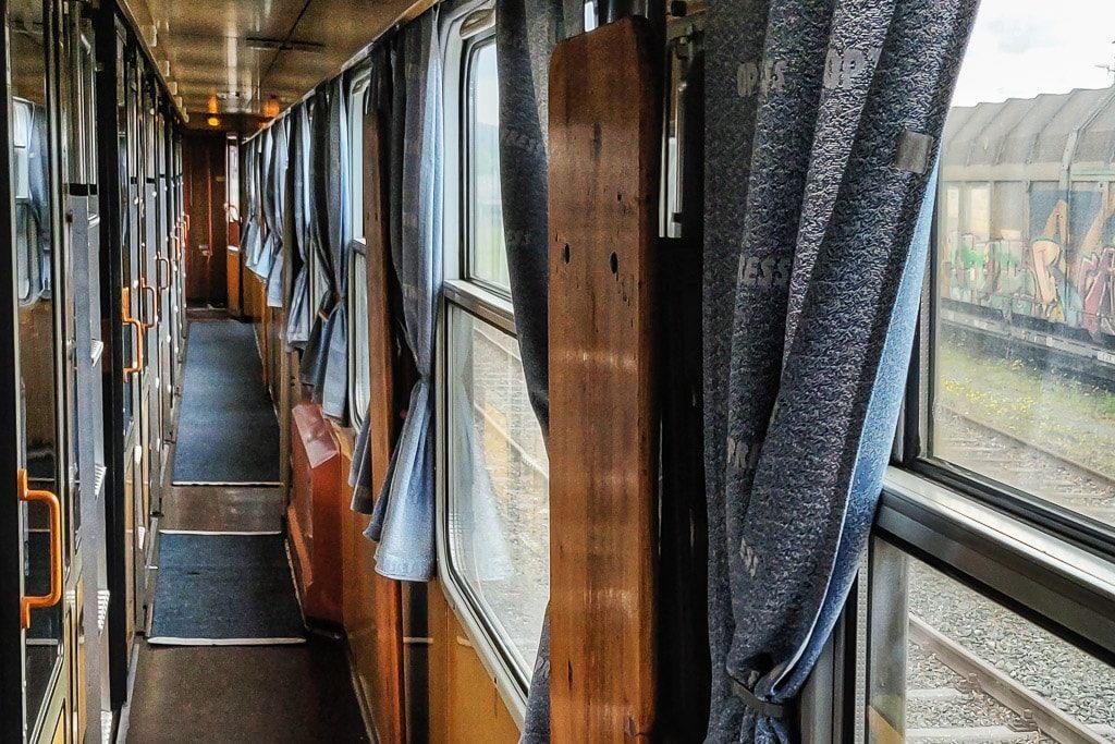 Liegewagen Gang im Optima Express