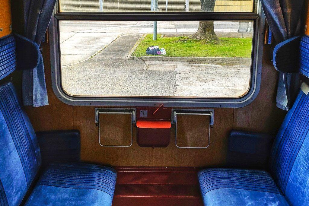 Optima Express Abteil Liegewagen Tagstellung