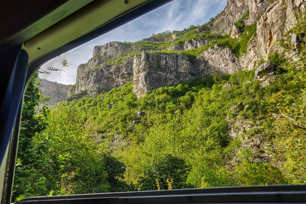 Optima Express Landschaft Serbien Bulgarien Nisava