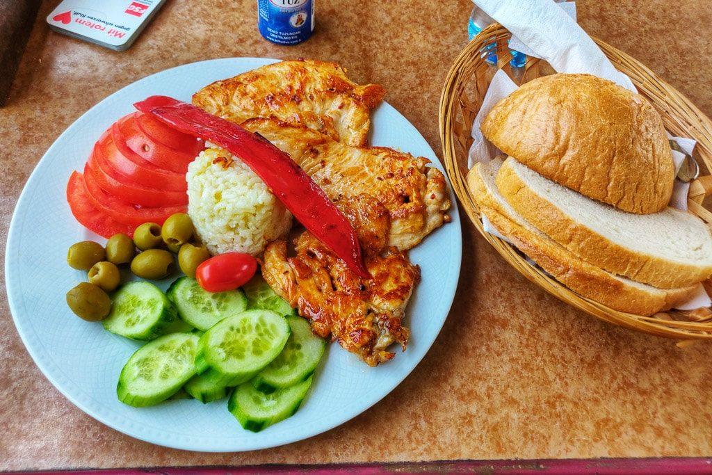 Essen Speisewagen Optima Express