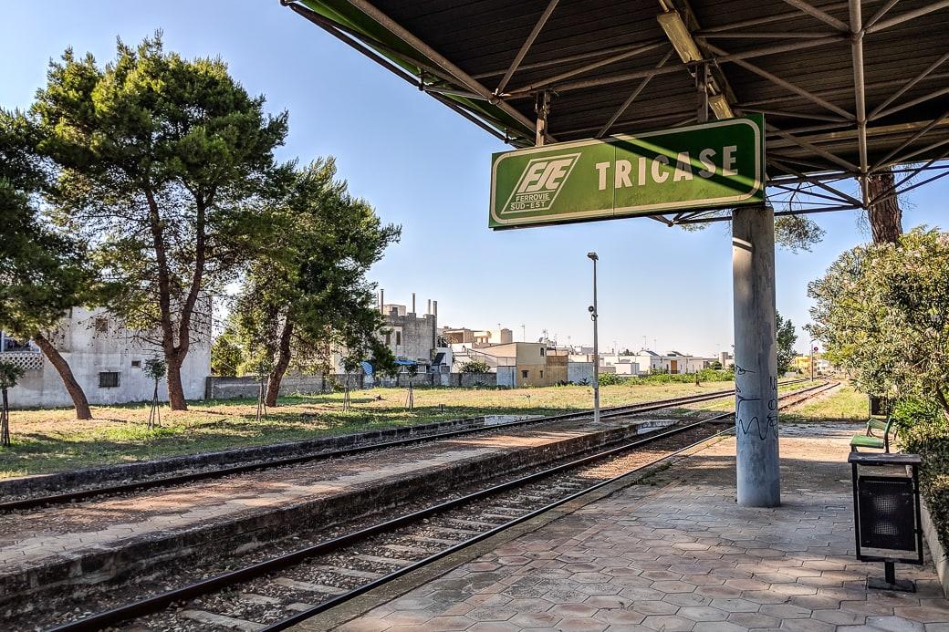 Bahnhof Tricase FSE Salento Apulien