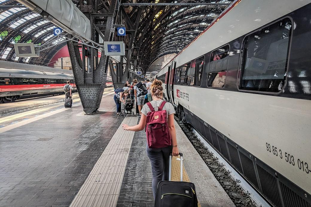 Bahnhof Milano Centrale Mailand Italien
