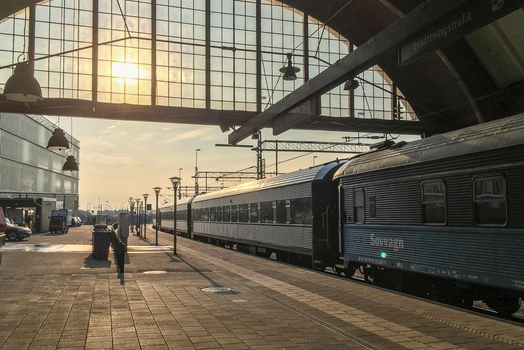 Nachtzug Stockholm Malmö Schlafwagen
