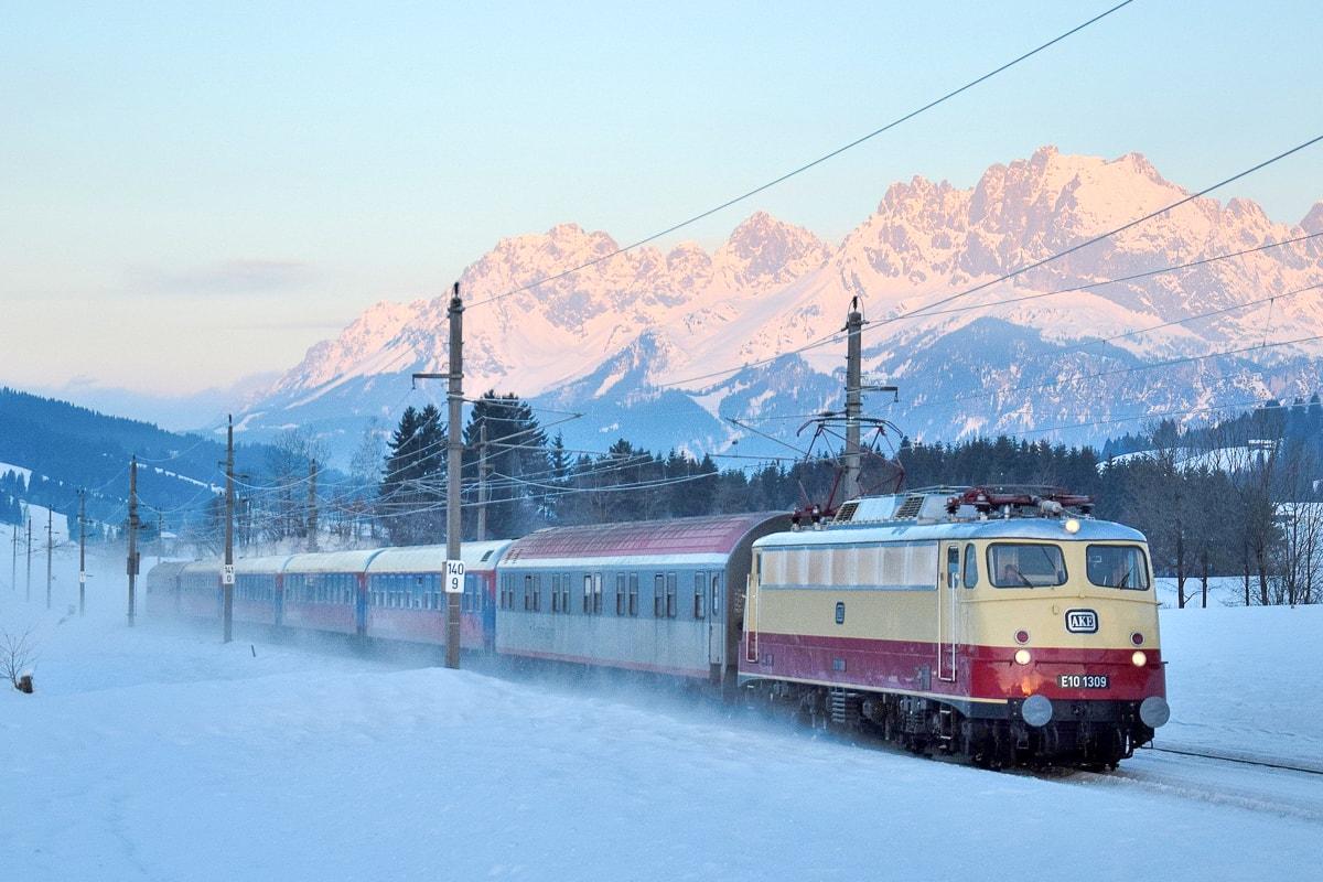Alpen Express Den Haag Amsterdam Eindhoven Bludenz Bischofshofen Winter Ski Wintersport