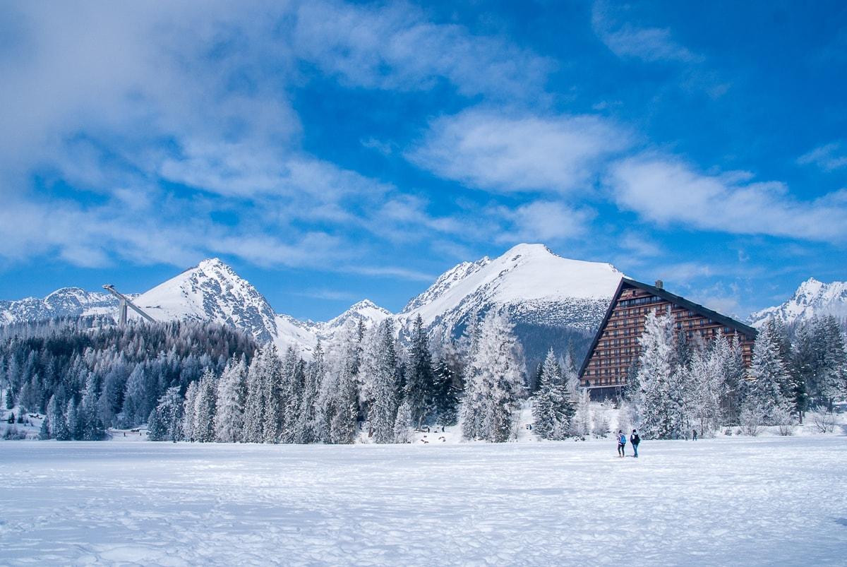 Štrbské Pleso Hohe Tatra Slowakei
