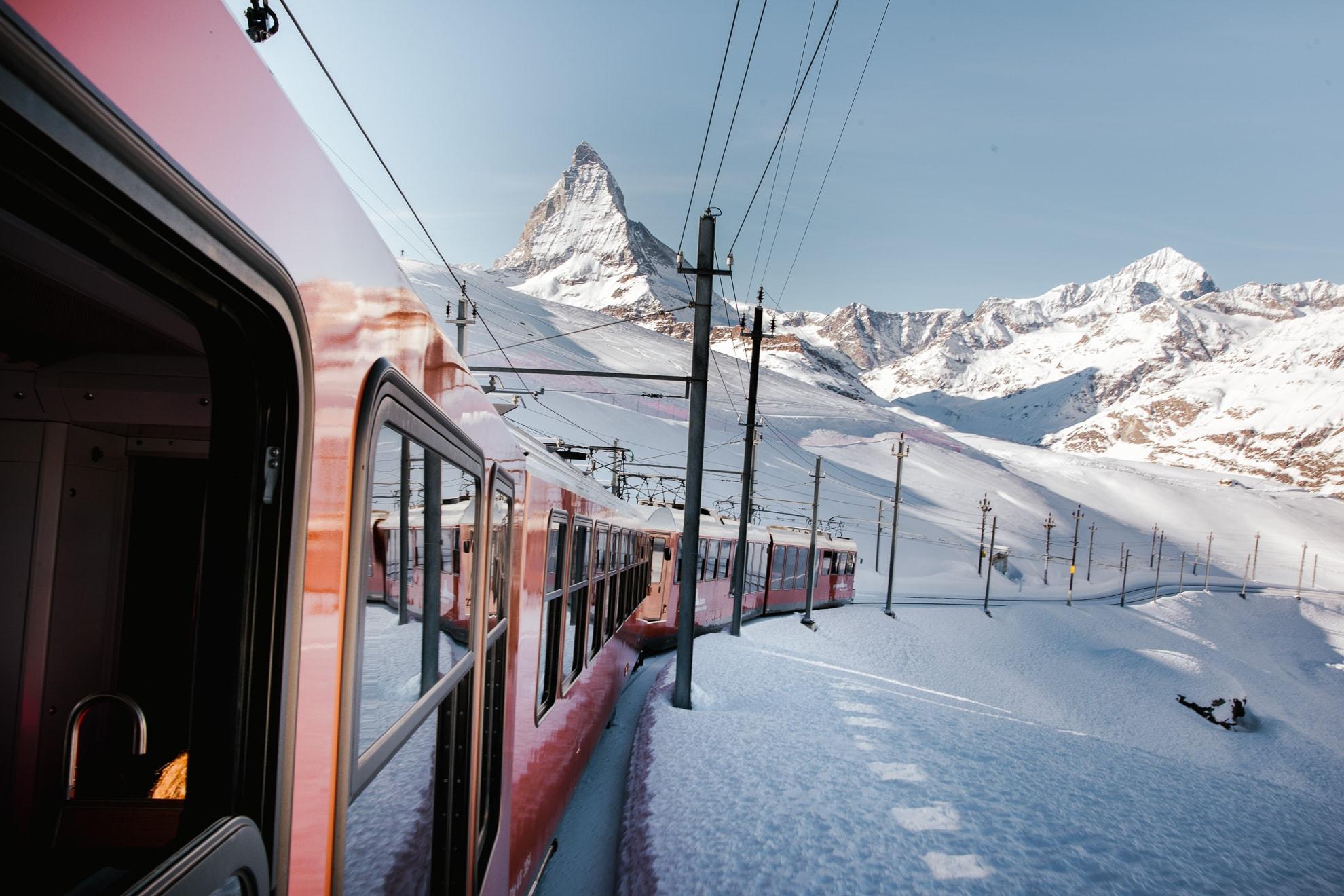Zug Matterhorn Schweiz