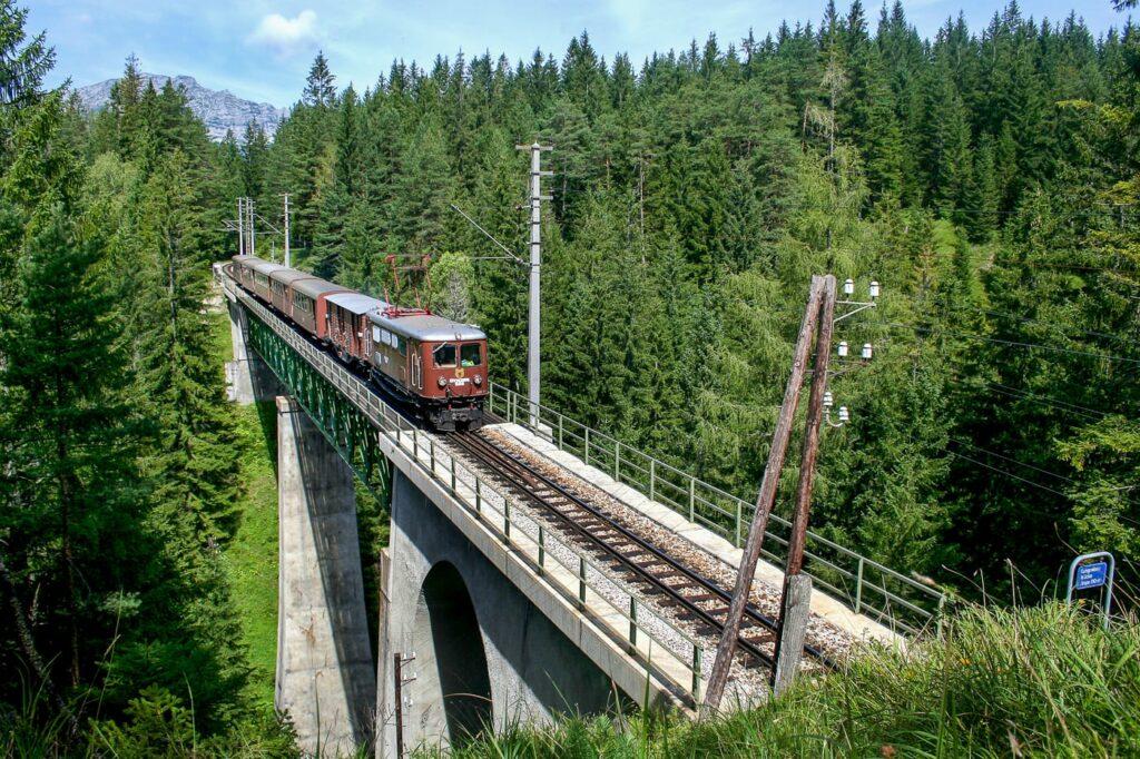 Erlebniszug Ötscherbär auf der Mariazellerbahn