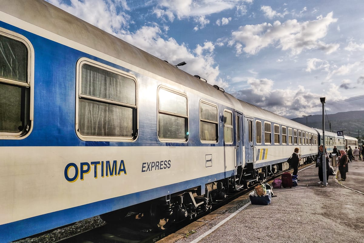 Optima Express Autoreisezug Villach Edirne Türkei
