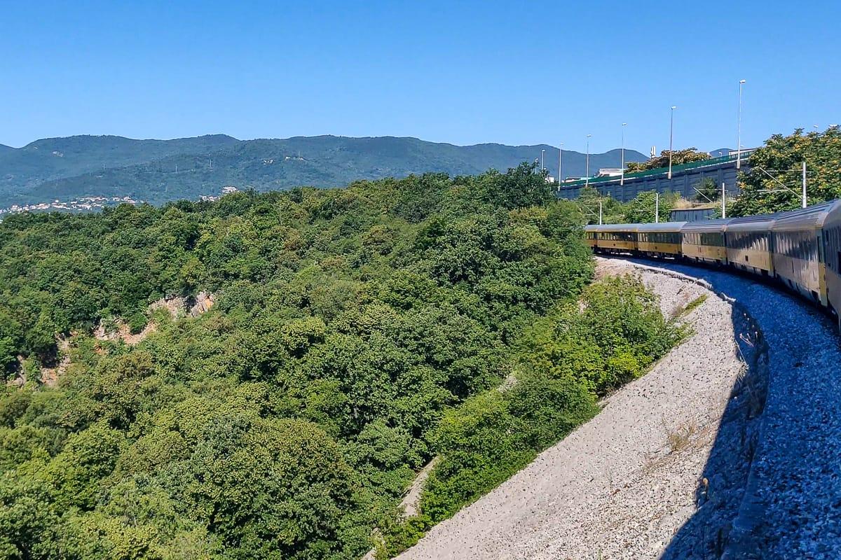 RegioJet Nachtzug Kroatien Rijeka