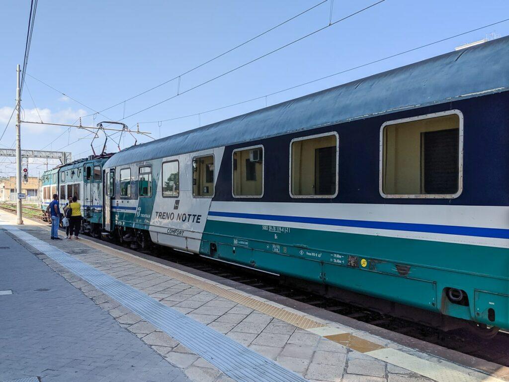 Intercity Notte Nachtzug Italien Liegewagen