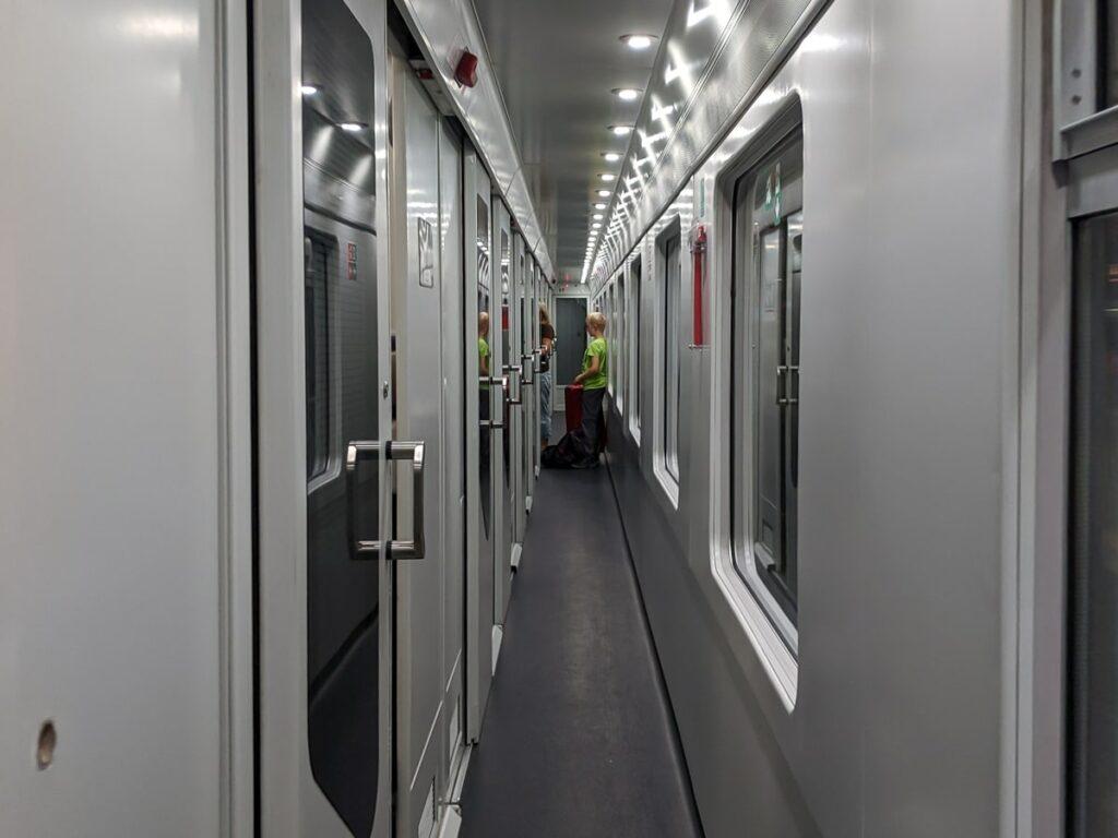 Intercity Notte Nachtzug Italien Liegewagen Gang