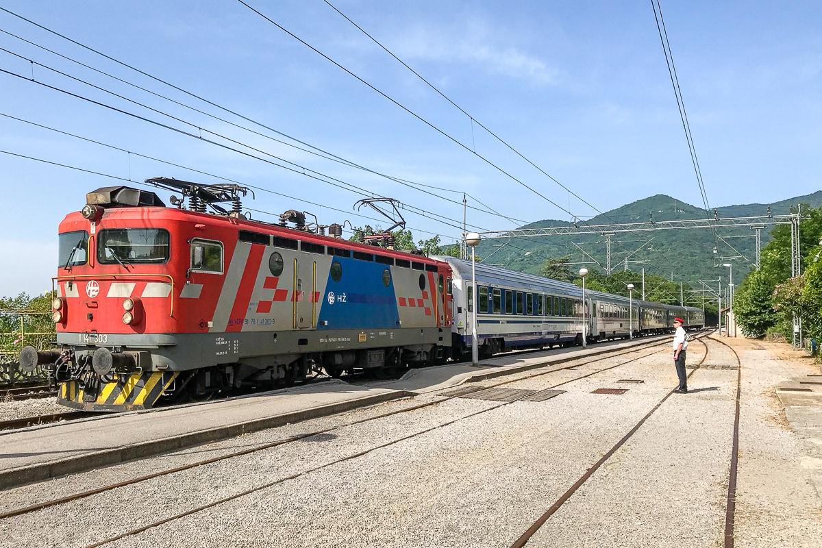 Mit dem Nachtzug nach Rijeka in Kroatien