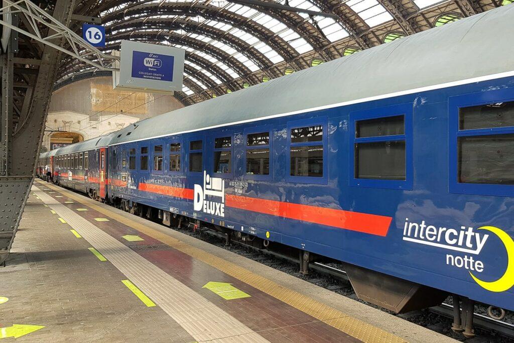 Intercity Notte Nachtzug Italien Schlafwagen
