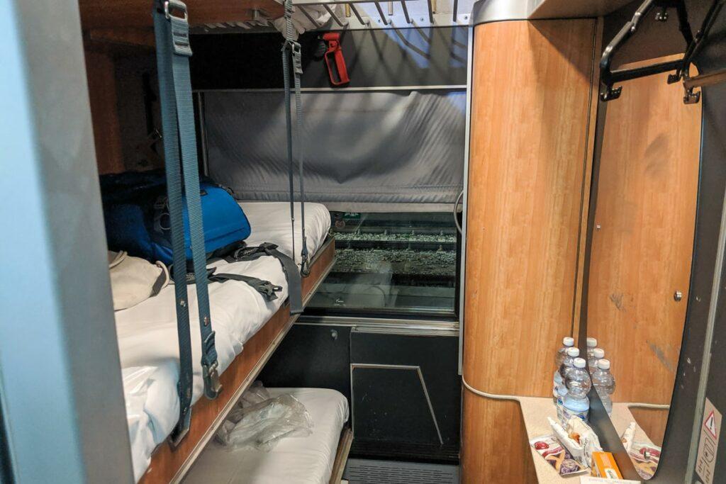 Intercity Notte Nachtzug Italien Schlafwagen Abteil