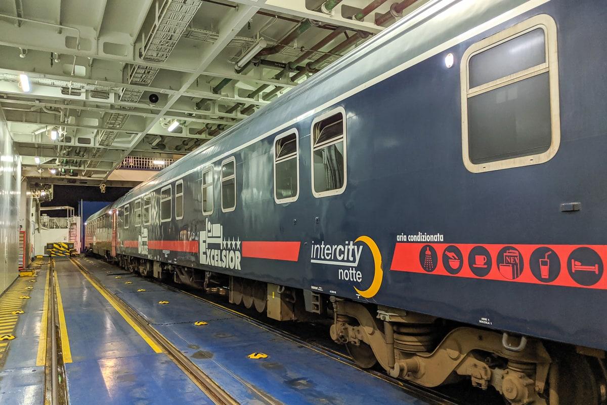 Intercity Notte Nachtzug Italien Schlafwagen Excelsior