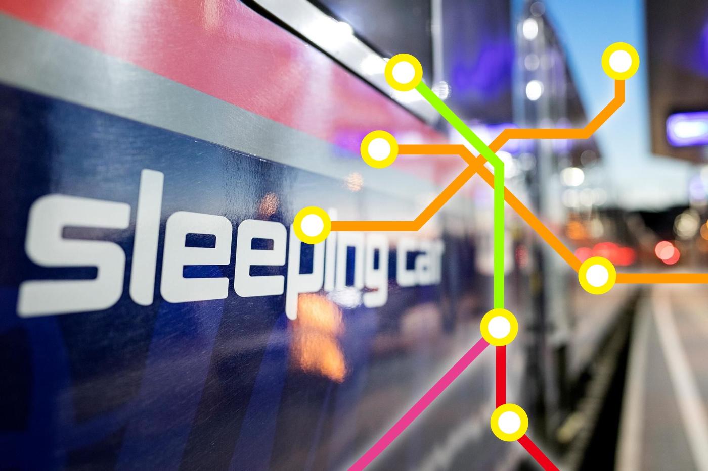 Deutschland, Österreich, Frankreich und die Schweiz kündigen neue Nachtzüge an