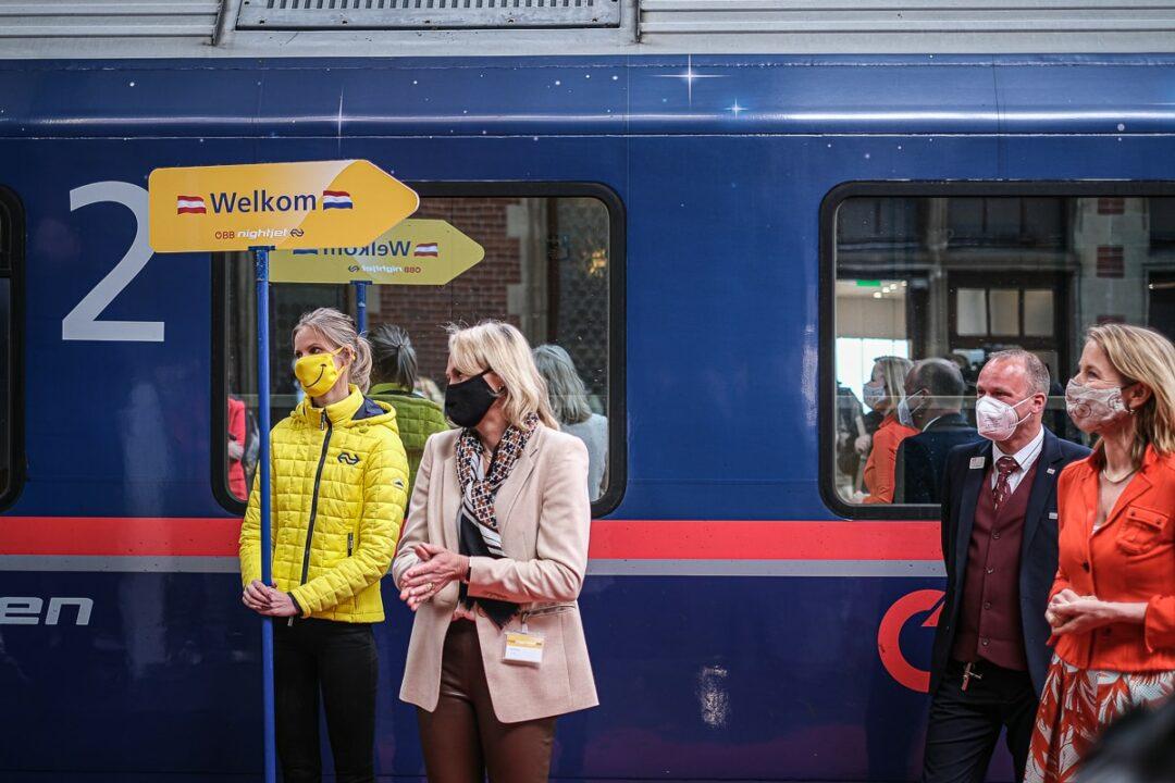 Nachtzug von Wien und Innsnruck nach Amsterdam gestartet
