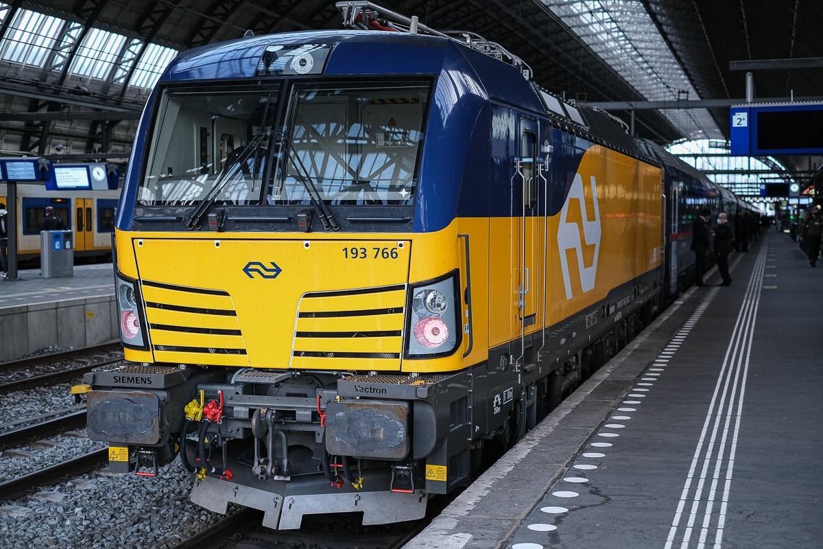 ÖBB Nightjet Lokomotive Amsterdam Centraal