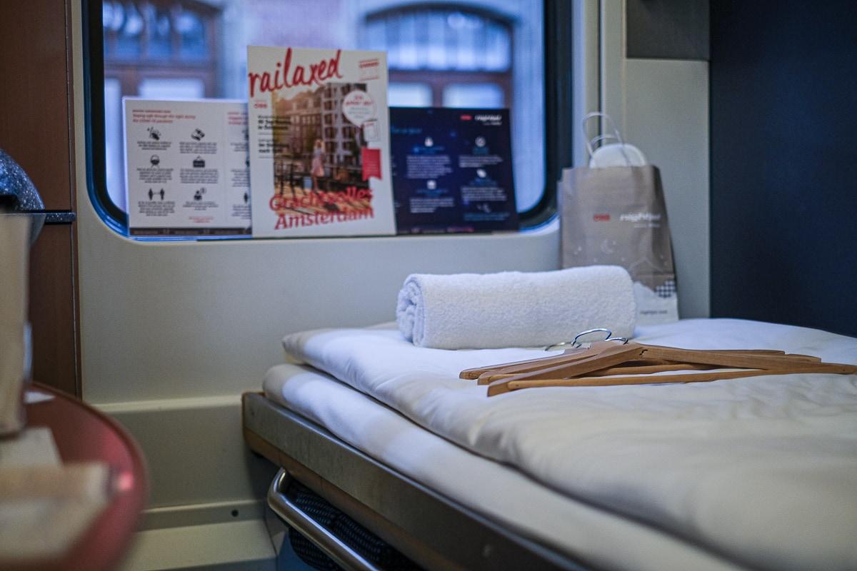 Schlafwagen Abteil ÖBB Nightjet