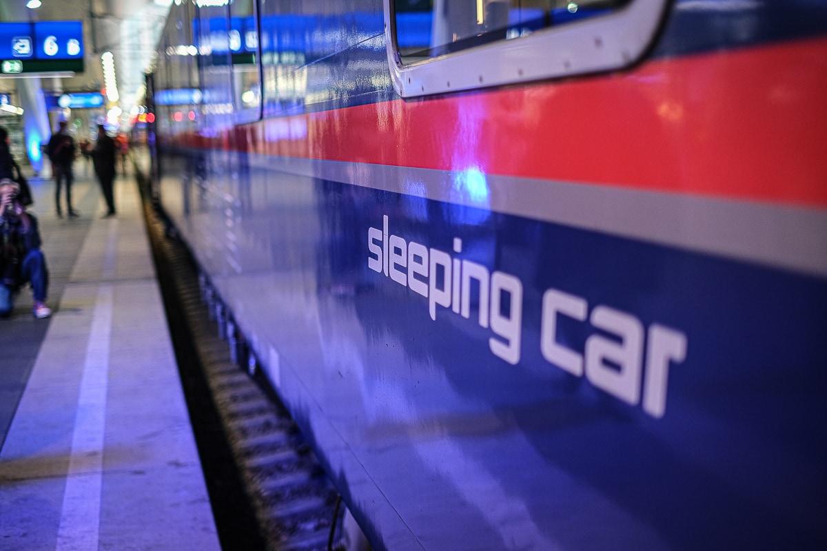 Schlafwagen ÖBB Nightjet