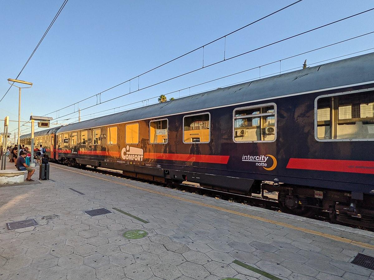 Liegewagen Nachtzug Italien