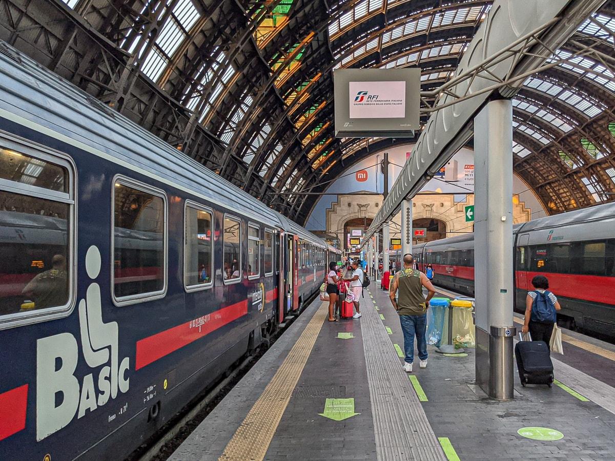 Sitzwagen Nachtzug Italien